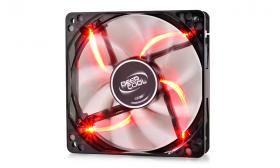 DeepCool Wind Blade 120 Black/Red LED